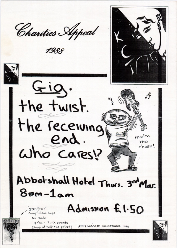 Who Cares 3rd March Poster