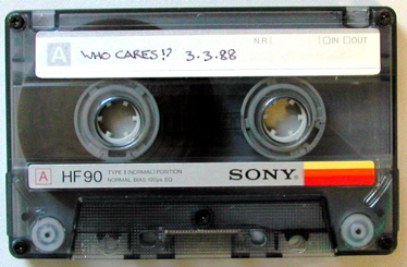 Who Cares Tape